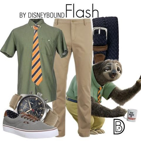 Flash, Flash, the hundred yard dash.  #flash #zootopia #sloth #disney | Costume Idea for Photobooth - Theme your next family movie night with this tip from Southern Outdoor Cinema