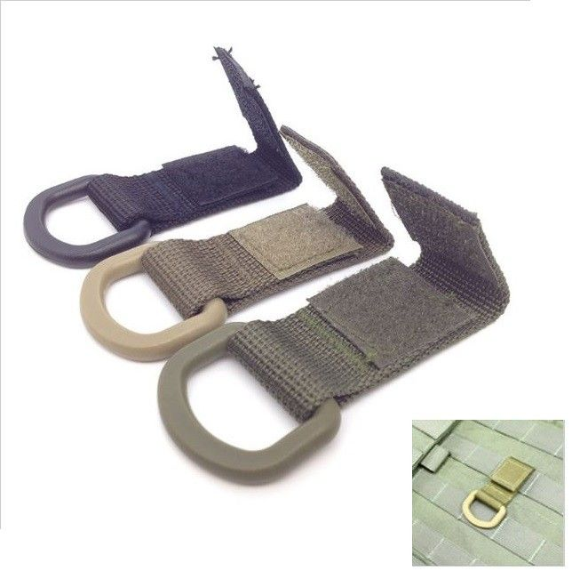 MOLLE D-RING CLIP