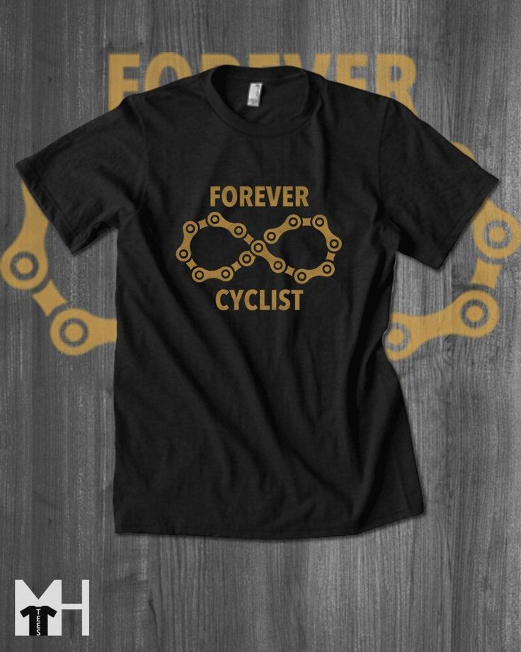 Forever Cycling T shirt Road Bike T-Shirt Cycling Clothing Cycling Apparel Road Cycling Mountain Bike Apparel gifts for him by MindHarvest on Etsy https://www.etsy.com/listing/479324289/forever-cycling-t-shirt-road-bike-t