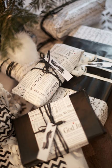 Gift wrapping ideas / Myke minutter: Jul