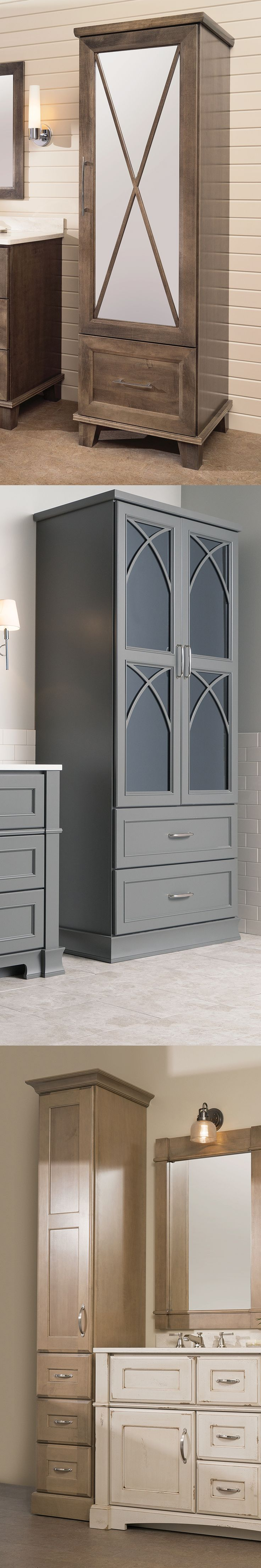 127 best Bathroom cabinets images on Pinterest