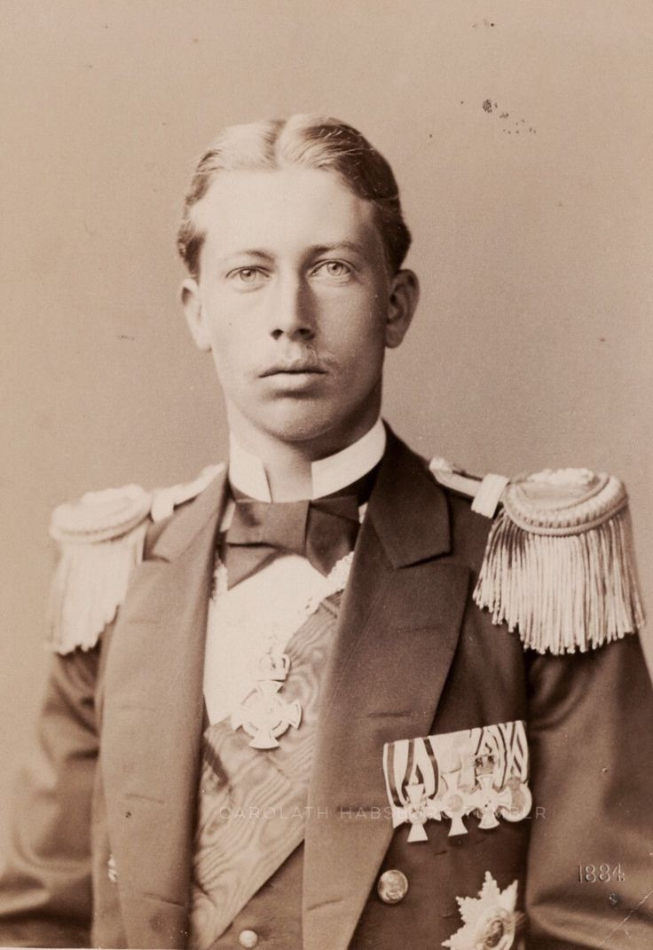 Prince Heinrich of Prussia. 1884