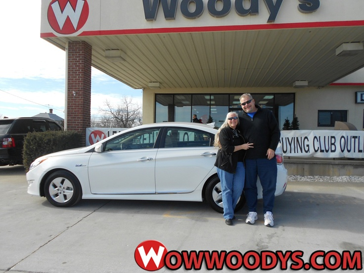 "Kelly and Angela Poling from Chillicothe, Missouri purchased this 2012 Hyundai Sonate and wrote, ""We always come to Woody's due to: Christian environment, high level of integrity, salespeople not over bearing, have always worked with us!! Thank you!!"" To view similar vehicles and more, go to www.wowwoodys.com today!"