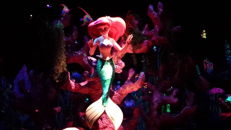 Under the Sea - Journey of the Little Mermaid Ride 2015