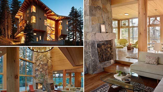 9 best images about case in legno on pinterest pallets for Immagini di interni di case moderne