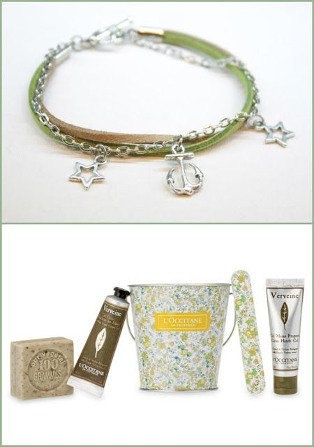 Suze likes, loves, finds and dreams: Sea Week: L'Occitane Verveine Bucket and Sea Brace...