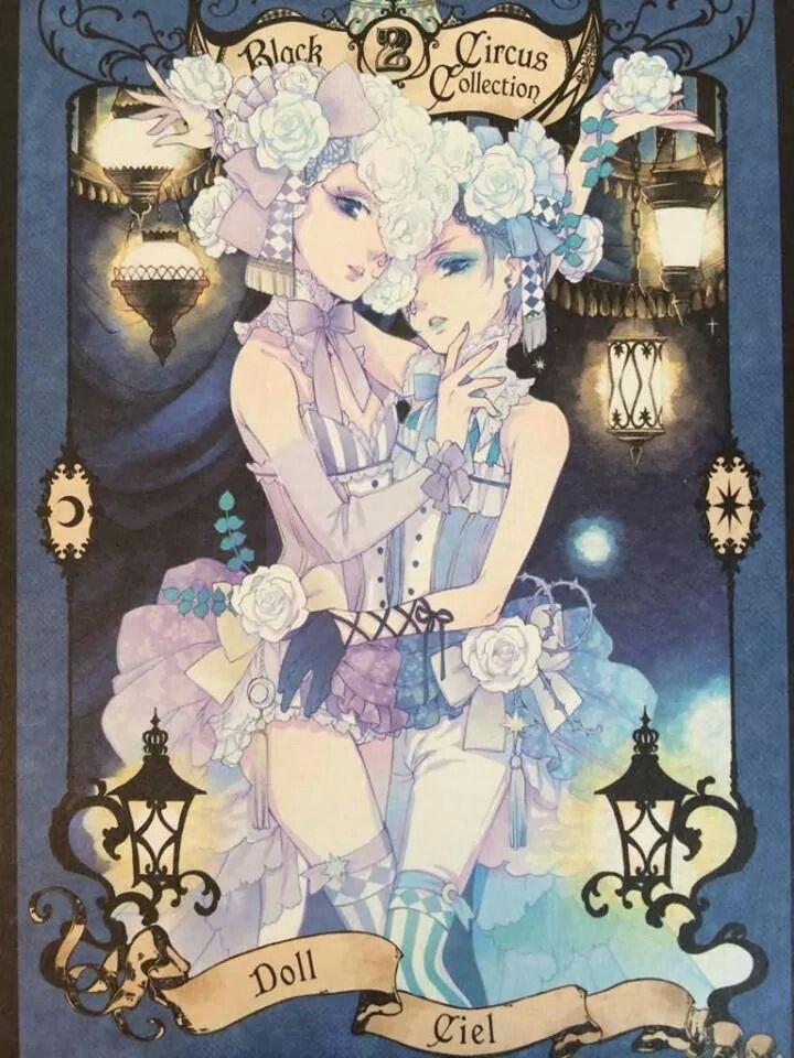 Kuroshitsuji book of circus - Doll & Ciel | Kuroshitsuji ...