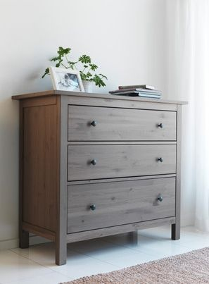 New York: 3 drawer chest HEMNES $60 - http://furnishlyst.com/listings/1165579
