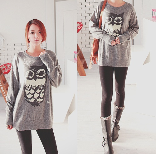 Very me as well. People love my oversized owl tank. I need the sweater version of it as well :)
