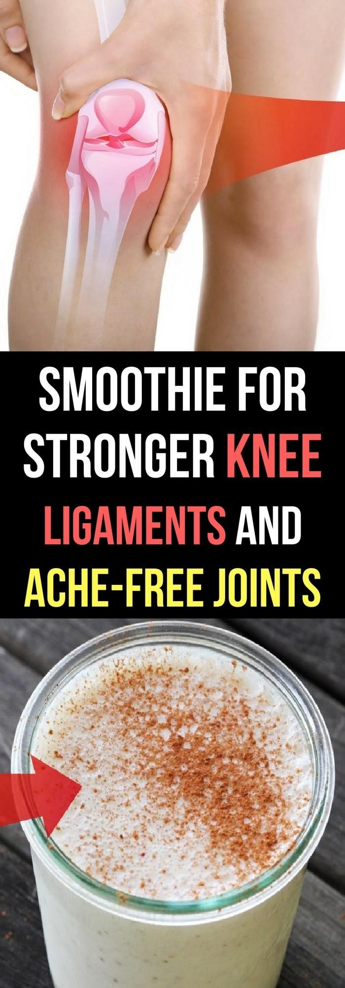 Smoothie for Stronger Knee Ligaments and Ache-free Joints