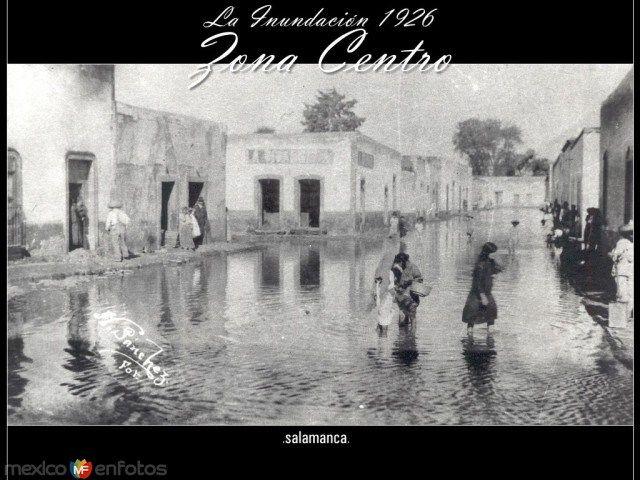 Fotos de Salamanca, Guanajuato, México: INUNDACION 1926