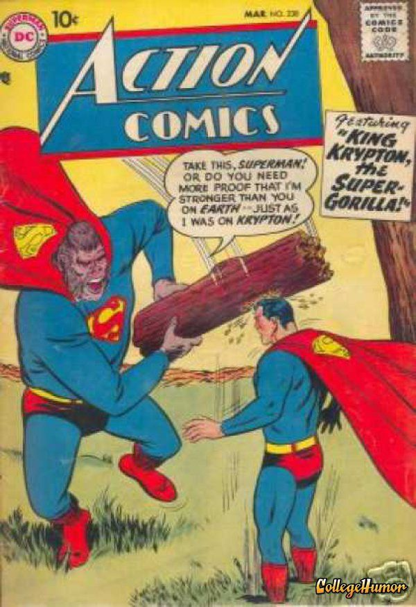 18 Ridiculous Comic Book Covers Featuring Gorillas | D C ...