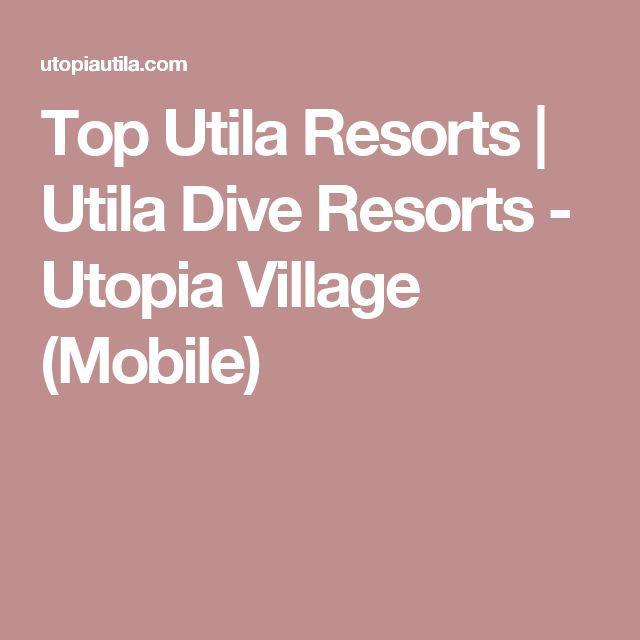 Top Utila Resorts | Utila Dive Resorts - Utopia Village (Mobile)