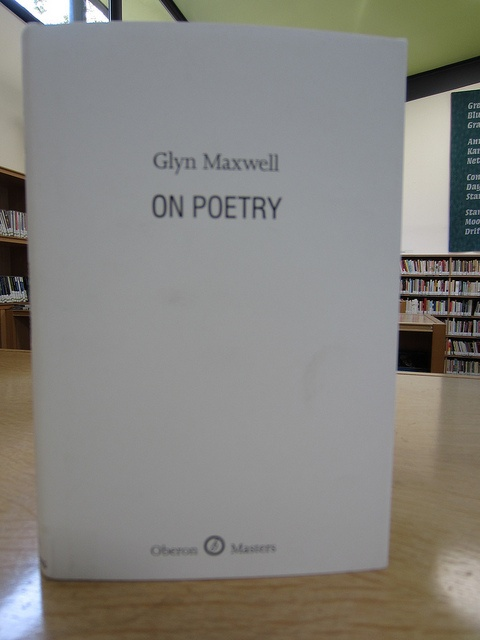 On Poetry by Glyn Maxwell by Scottish Poetry Library, via Flickr Our Short Reading Group course, from mid-May till July 1st 2014. Group now full.