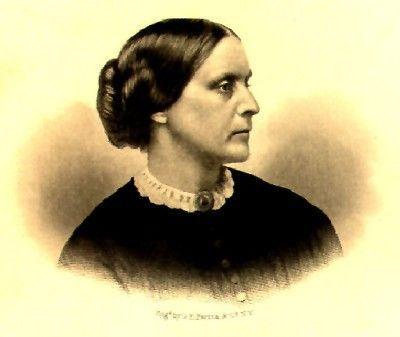 Susan B. Anthony, because you fought, I will ALWAYS vote!