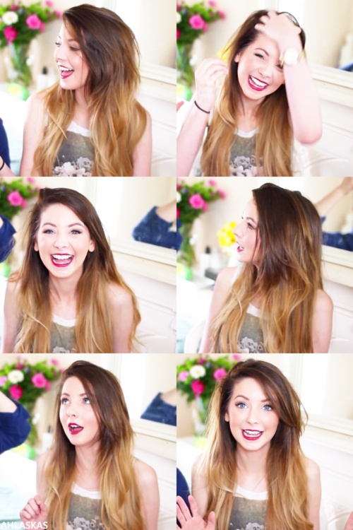 Zoella! im obsessed with her!! were best friend but we havent met yet...