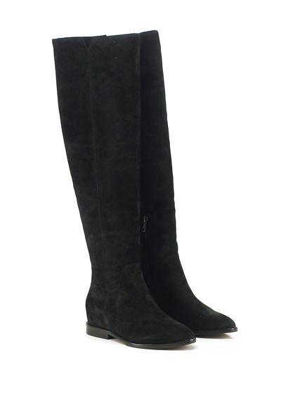 ASH - Stivali - Donna - Stivale in camoscio spazzolato vintage con zip su lato…