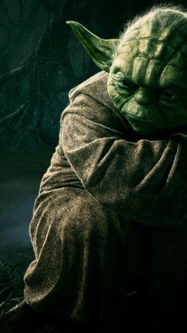 Yoda, so mysterious :)