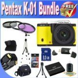 Get The Very best Price tag For Pentax K-01 16MP APS-C CMOS Compact Method Camera With 40mm Lens (Yellow) + Prolonged Life Battery + 8GB SDHC Class ten Memory Card + USB Card Reader + Memory Card Wallet + Deluxe Scenario w/Strap + Shock Evidence Deluxe Circumstance + Mini HDMI to HDMI Cable + three Piece Expert Filter Package + Specialist Total Size Tripod + Accessory Saver Bundle! For Sale - http://buyingmanual.com/get-the-very-best-price-tag-for-pentax-k-01-16mp-aps-c-cmos-