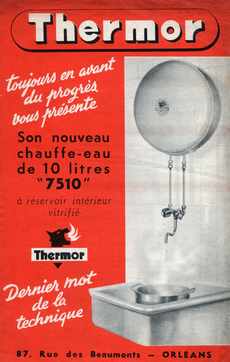 Chauffe-eau 10L Thermor - 1950