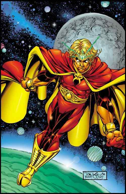 Adam Warlock this Character is very important in the Infinity Gauntlet Story Arc. And yes there have been several Easter Eggs in several Marvel movies and seen the Cocoon the Collector has. Mark my words I believe we will be seeing him in the near future. A.M.