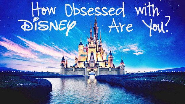 How Obsessed With Disney Are You 93/100 You are full-on Disney obsessed. You eat, sleep, breathe Disney. If you could literally move to Disney and live there forever, you'd be there. And you'd live happily ever after.