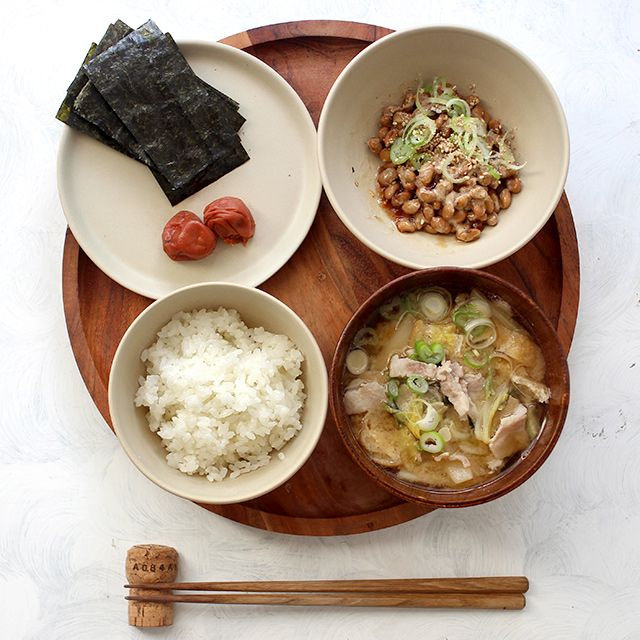 Natto & Pork Miso Soup