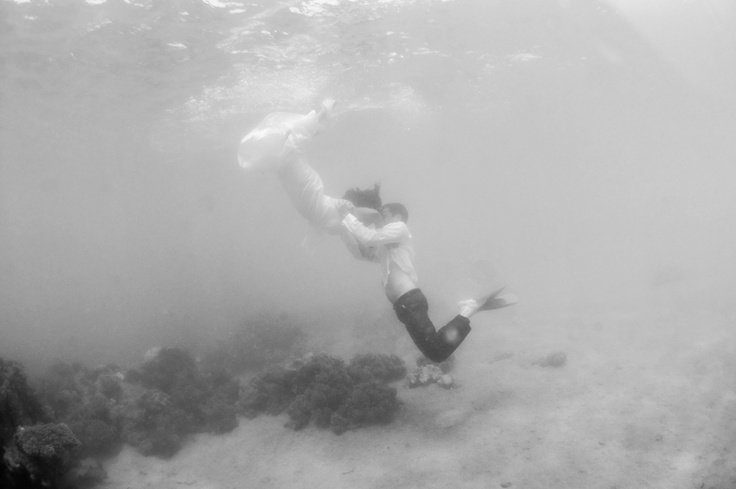 Underwater Shoot Lisa Michele Burns - Destination Wedding Photographer - Blending Landscapes +Love