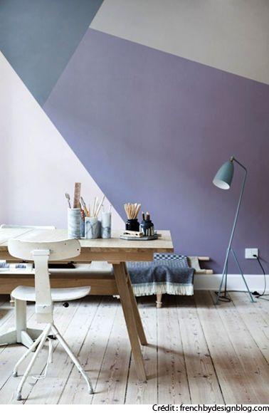 Déco bureau : Idées pour aménager un bureau à la maison (Crédit: frenchbydesignblog.com)