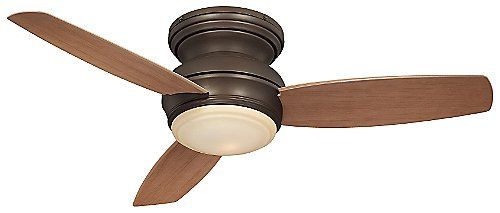 Concept Traditional Flush Ceiling Fan with Optional Light by Minka Aire Fans at Lumens.com  44""