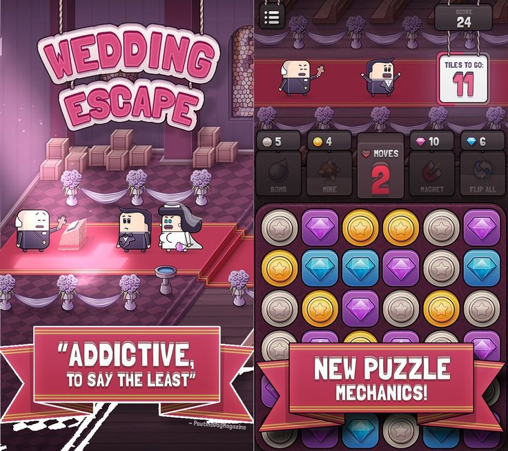 It looks like match-three puzzle games show no intention of going down yet. Today, players still ask for them no matter how many of these are out already. Even I also enjoy these puzzle games but I am quite picky when it comes to them. But, Wedding Escape's unique features attracted me enough, and managed to keep me interested and enjoy it without leading me on the verge of frustration, unlike other similar games.