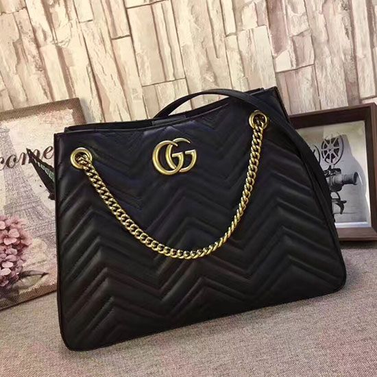 Gucci GG Marmont Matelasse Shoulder Bag 453569  cd64e3c596cec