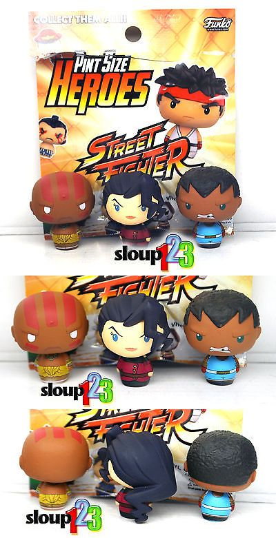 Designer and Urban Vinyl 158672: *Pint Size Heroes - Street Fighter - Dhalsim, Balrog And Rose - Walmart Exclusive* -> BUY IT NOW ONLY: $44.99 on eBay!
