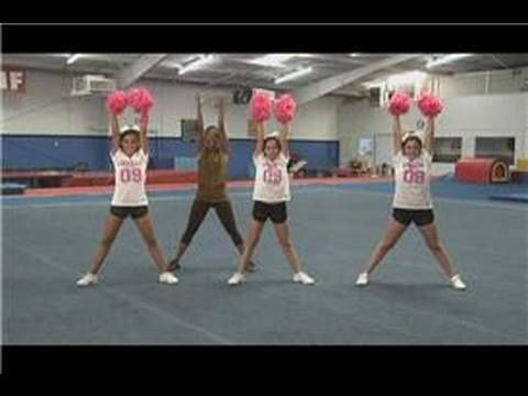 Basic Moves for Cheerleading Routines: How to Do a Touchdown Cheer in Cheerleading