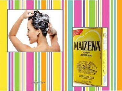 A hidratação com maisena é uma excelente receita caseira para quem tem cabelos ressecados. Os resultados dessa hidratação são incríveis.