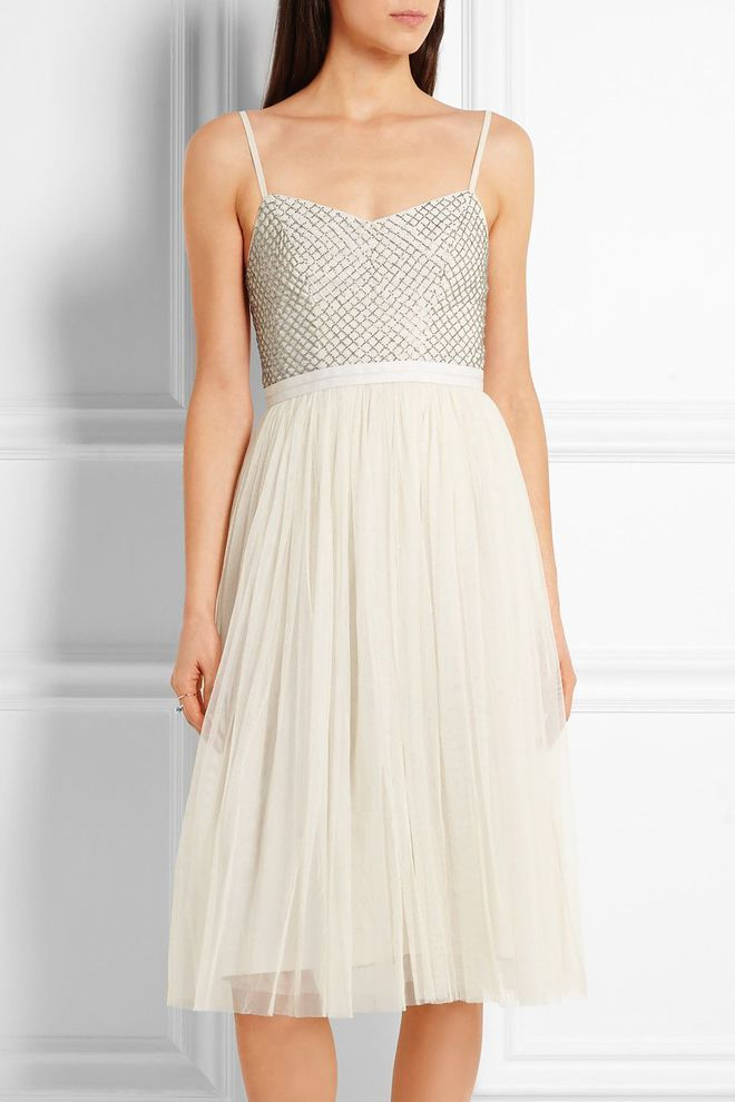 Robe de soirée, robe de fêtes: Needle& Thread robe danseuse