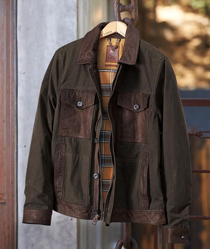 Rancho Canvas Coat