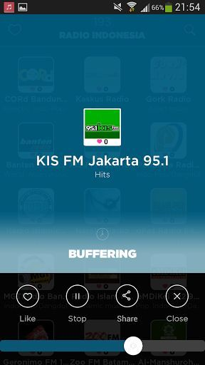 Indonesia Radio App is the easiest for your phone<p>Over 200 Indonesian radios available , without limits and high quality<p>Our team has sought to make the Radio application as simple as possible compared to other more complex radios Indonesia, while retaining the essential.<p>You can:<br>- Navigate through 200 Indonesian radios available<br>- Search an Indonesian radio by name<br>- Search an Indonesian radio among 40 categories ( News, Pop, Electro ... )<br>- Add your favorite Indonesian…