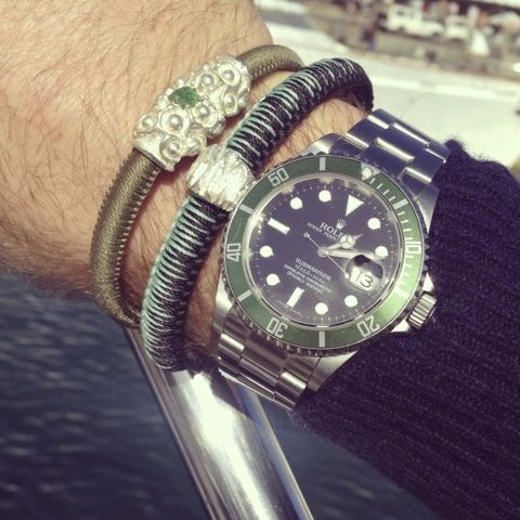 URU with Rolex Sub Green Edition