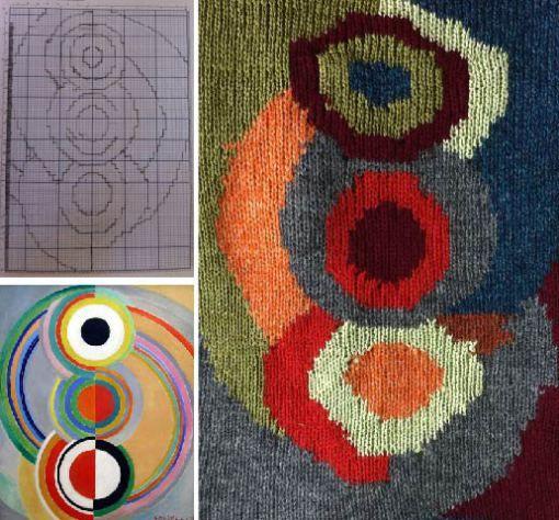 Knitting Intarsia : Machine knit intarsia http emilyjoyrickard wp