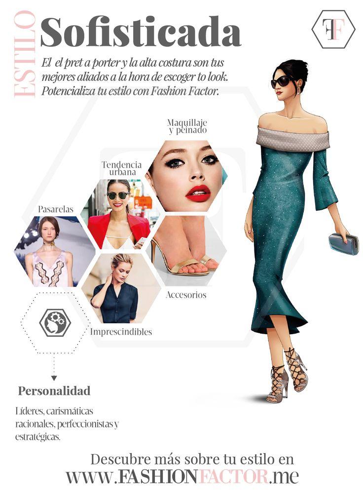 Mujer de estilo Sofisticada, eres el centro de gravedad de todas las reuniones. Tu glamour y estilo resaltarán con las tendencias que encontrarás en fashionfactor.me. Conéctate ya.