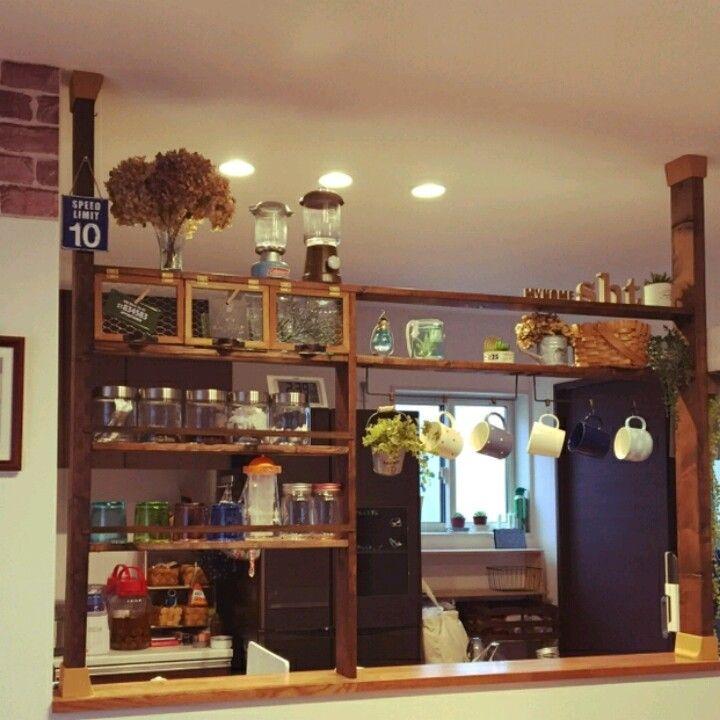 diy diy and crafts diy kitchens room ideas half walls display interior sweet shelving
