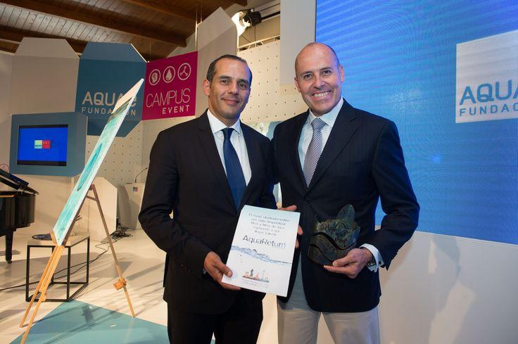 Juan Verde, asesor de Barack Obama, felicita a AquaReturn, por su componente positivo Ecológicamente