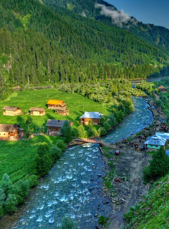 Taobat Valley, Azad Kashmir/ Pakistan.. Taobat (Urdu: تاوبت ) is a village and tourist resort in Neelam Valley, Azad Kashmir, Pakistan. It is located 199 kilometers (124 mi) from Muzaffarabad and 38 kilometers (24 mi) from Kel. It is the last station in Neelam valley Taobat is accessible by Neelum road from Kel. A Motel of Tourism and Archeology Department and few hotels are located there for tourists stay..| Posted by: holidayspots1.rssing.com