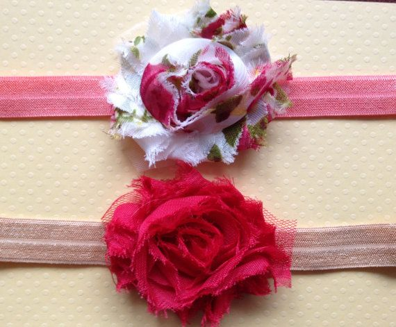 Toddler Little Miss Romantic Headband Set by BooLouBaby on Etsy