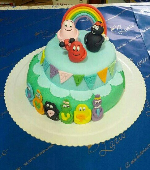 Barbapapà cake design