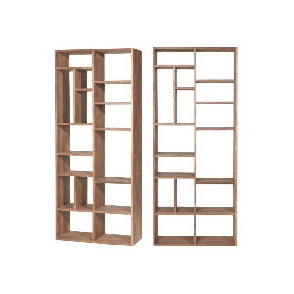 Boekenkast FLO / TEAK - Pinedesign