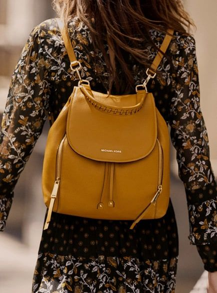 1376387d99a3 MICHAEL KORS Viv Large Leather Backpack in 2019 | Best Handbags 2019 ...