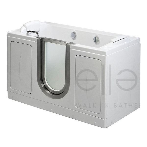 Tub Material: High Quality Cast Acrylic Grade A.  Door Material: Stainless  Steel, Tempered Glass Door And Rubber Seal Frame.  Low Threshold Step In.