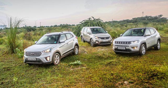 Jeep Compass vs Tata Hexa vs Hyundai Creta: confronto